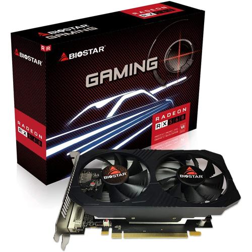 BIOSTAR AMD 4GB RX 560 RADEON GDDR5 128 Bit RX560-4GB HDMI DVI DP