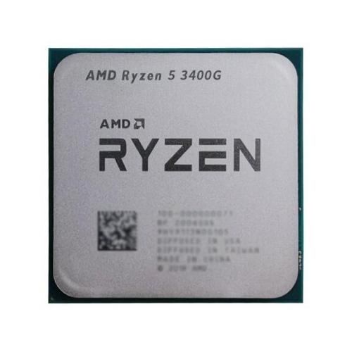 AMD RYZEN 5 3400G 4 3.7 GHz 65 W AM4 tray fansız
