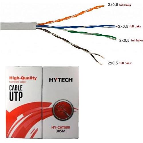 Hytech HY-CAT500 Cat5 Utp ( 305 Metre ) Network Kablosu
