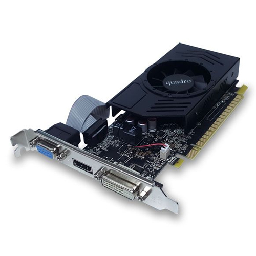 QUADRO nVidia 4GB GT740 4GD3L DDR3 128 Bit HDMI DVI VGA DVI