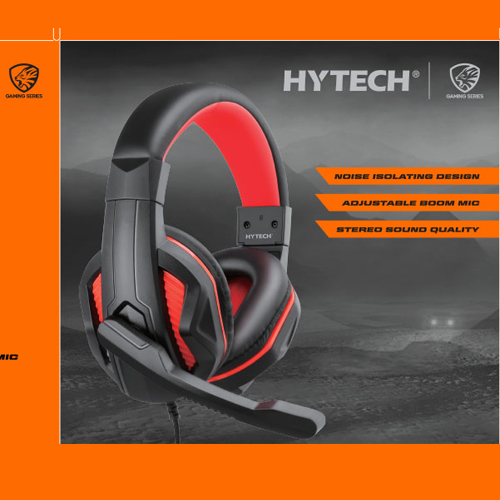 Hytech HY-G9 BANNER Gaming Mikrofonlu Kulaklık SİYAH / KIRMIZI