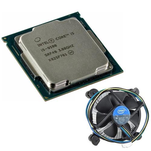 INTEL Core i5 9500 6 4.40 GHz 9MB 1151P Tray+Orj. Fan(9.Nesil)