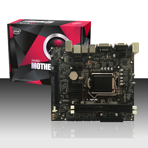 AFOX INTEL IH55-MA6 H55 DDR3 1066/1333/1600 Mhz VGA GLAN 1156p MicroATX
