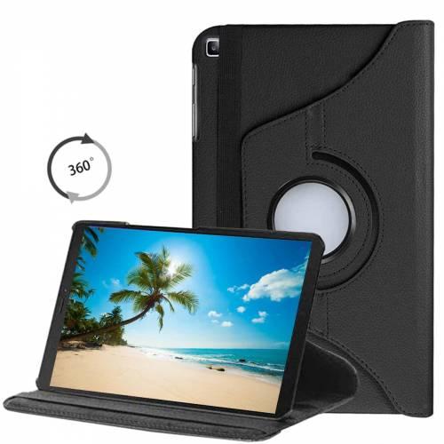 Joyroom Samsung Galaxy Tab A7 SM-T500 10.5 Kılıf 360 Derece Dönebilen Siyah