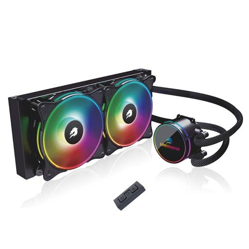 GameBooster NITRO 240 GB-LCS-NTR240 İntel/AM4 ARGB Fanlı 120mm Sıvı Soğutma Sistemi