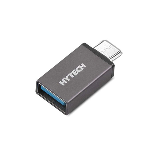 HYTECH HY-XO10 Gümüş Metal Gövde USB F to Micro USB Çevirici