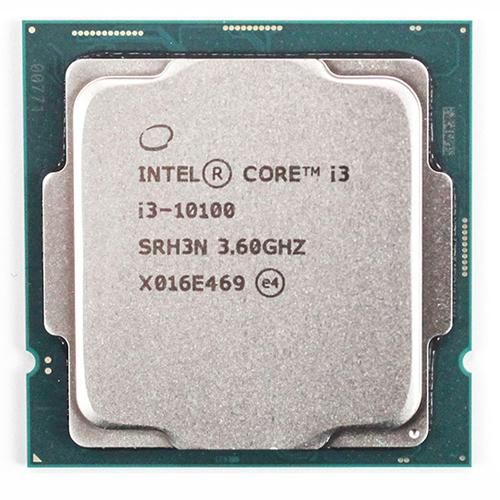 INTEL COMETLAKE CORE i3 10100 4 3,60 GHz 6MB SOKET 1200 Tray Fansız