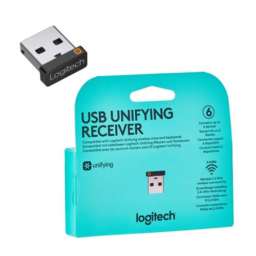 Logitech Unifying 910-005931 Kablosuz+USB Klavye+Mouse Uyumlu Alıcı