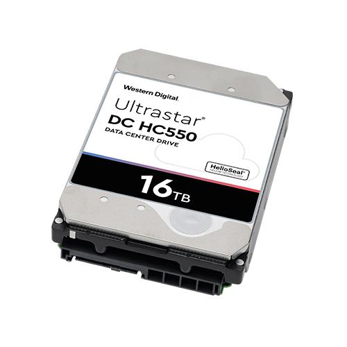 WD 3.5 Ultrastar DC HC550 16TB 7200 RPM 512MB SATA 6 Gb/s PC HDD WUH721816ALE6L4