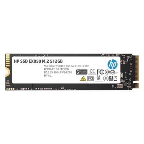 Hp EX950 512GB SSD M.2 NVMe PCIe 3500-2250MB/s 5MS22AA 3D TLC NAND