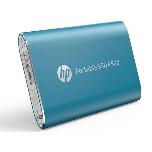 HP P500 250GB TAŞINABILIR SSD Mavi 7PD50AA
