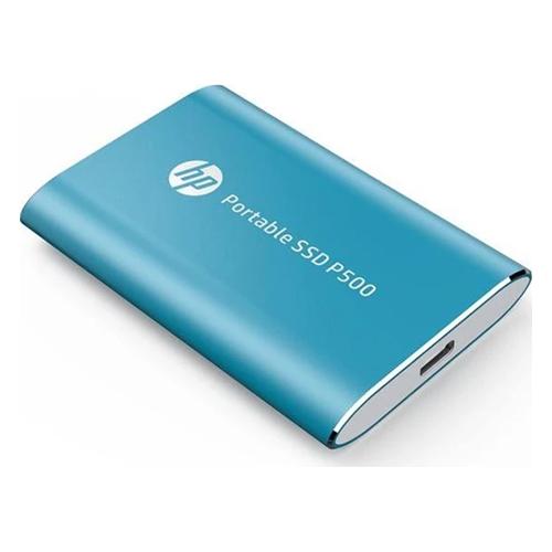 HP P500 500GB TAŞINABILIR SSD Mavi 7PD54AA