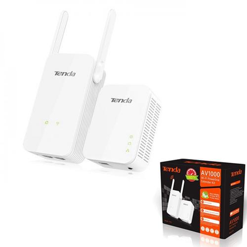TENDA PH5 AV1000 300Mbps Wireless (Kablosuz) Kit Elektrik Hattı (Priz) Üzerinde