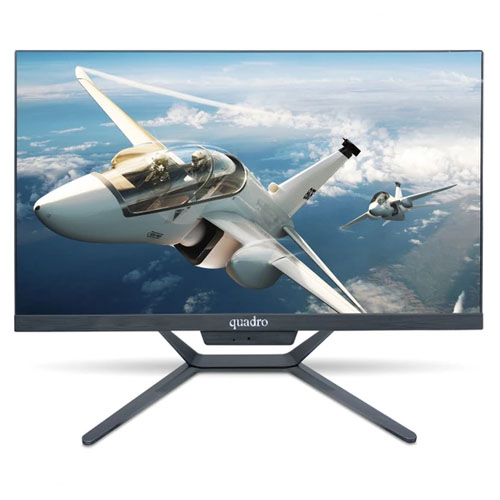 QUADRO AIO STARK H8124-49824 i5 4690T 8GB 240SSD 23.8 PIVOT FDOS All in One PC