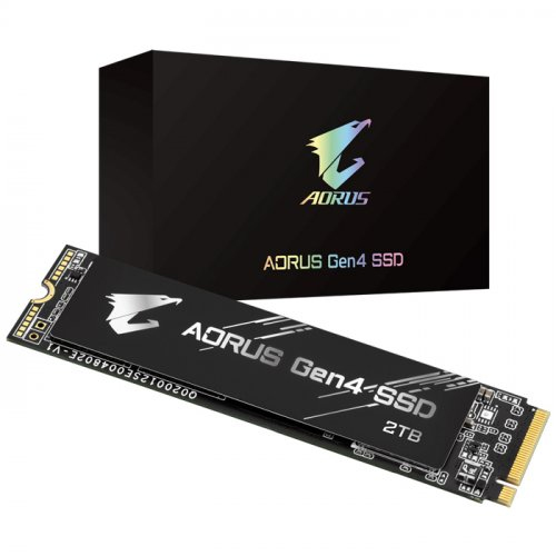 GIGABYTE AORUS GEN4 M.2 1TB SSD PCI-Express 4.0x4, NVMe 1.3 5000/4400 GP-AG41TB