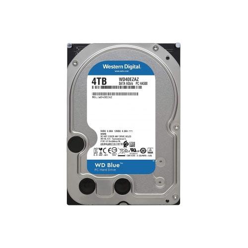 WD 3.5 Blue 4TB 5400 RPM 256MB SATA3 PC HDD WD40EZAZ