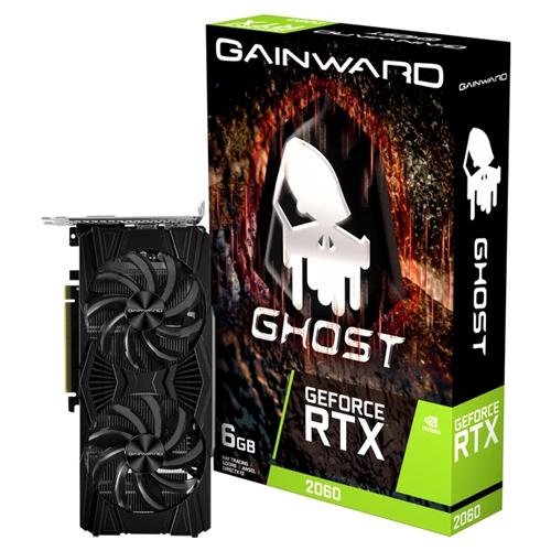 GAINWARD Nvidia 6GB RTX2060 GHOST GDDR6 192 Bit NE62060018J9-1160X-1 HDMI DVI-D DP