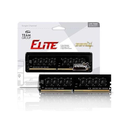 TEAM Elite 16GB DDR4 2666Mhz CL19 Pc Ram TED416G2666C19BK