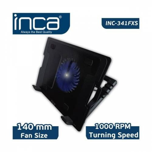 INCA SINC-341FXS 13 - 17 ABS PLASTIK Siyah STAND+SOĞUTUCU