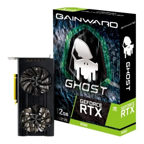GAINWARD Nvidia 12GB RTX3060 GHOST GDDR6 192 Bit NE63060019K9-190AU HDMI DP