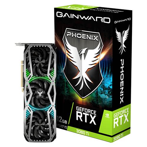 GAINWARD Nvidia 12GB RTX3080TI PHOENIX GDDR6 384 Bit NED308T019KB-132AX HDMI DP