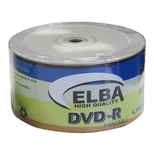 ELBA 16X 4.7GB-120MIN 50li Shrink DVD-R Boş Dvd