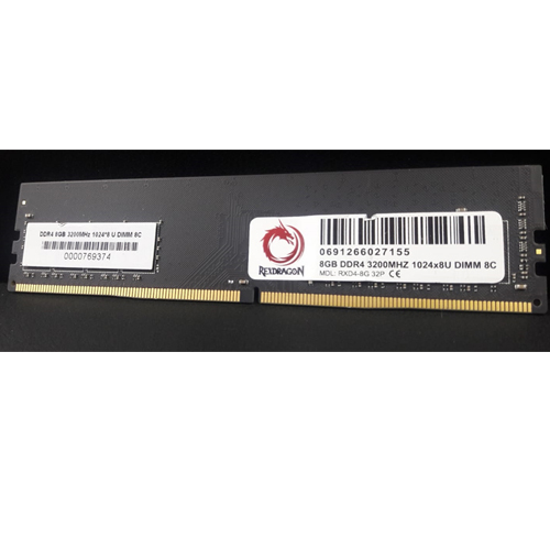 REXDRAGON 8GB DDR4 3200Mhz Pc Ram REX-PC3200/8G