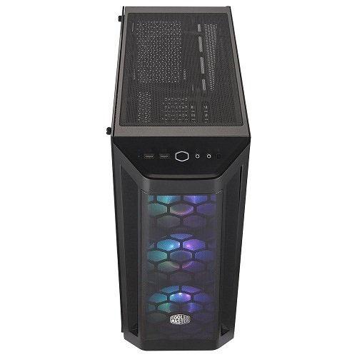 COOLER MASTER MasterBox MB511 MCB-B511D-KGNB65-STK 650W 80+ Temp.Glass 3X120CM ARGB LED FANLI Gaming Kasa