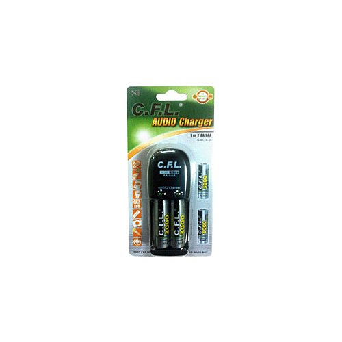 CFL Batery Charger V-90 2x AA3000 Nİ-MH/Nİ-CD Şarj Aleti