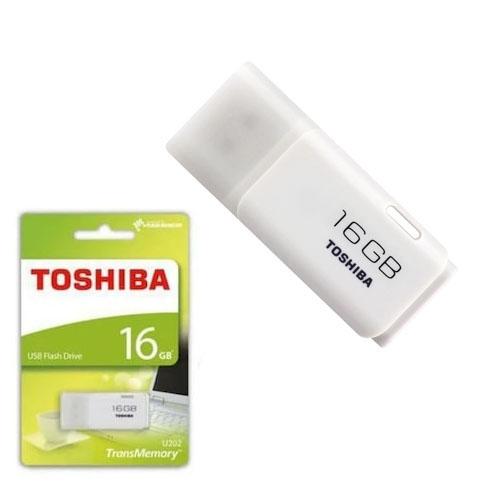 TOSHIBA 16GB Hayabusa Beyaz Usb 2.0 Flash Disk THN-U202W0160E4