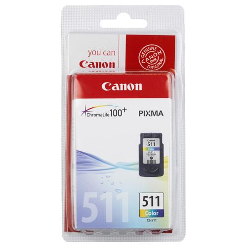 CANON CL-511 Renkli Mürekkep Kartuş Pixma MP240,MX320-330, MP250,260 Modelleri